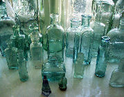 Bottles on Window Sill