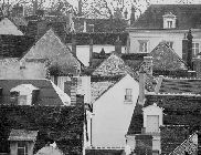 Rooftops in St. Aignan sur Cher, France